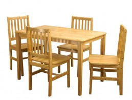 Malay Table and 4 chairs